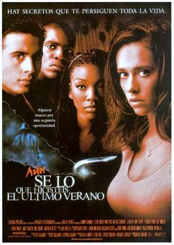 AÚN SÉ LO QUE HICÍSTEIS EL ÚLTIMO VERANO (1998)