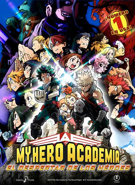 My hero Academia, el despertar de los héroes