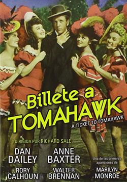 BILLETE A TOMAHAWK (1950)